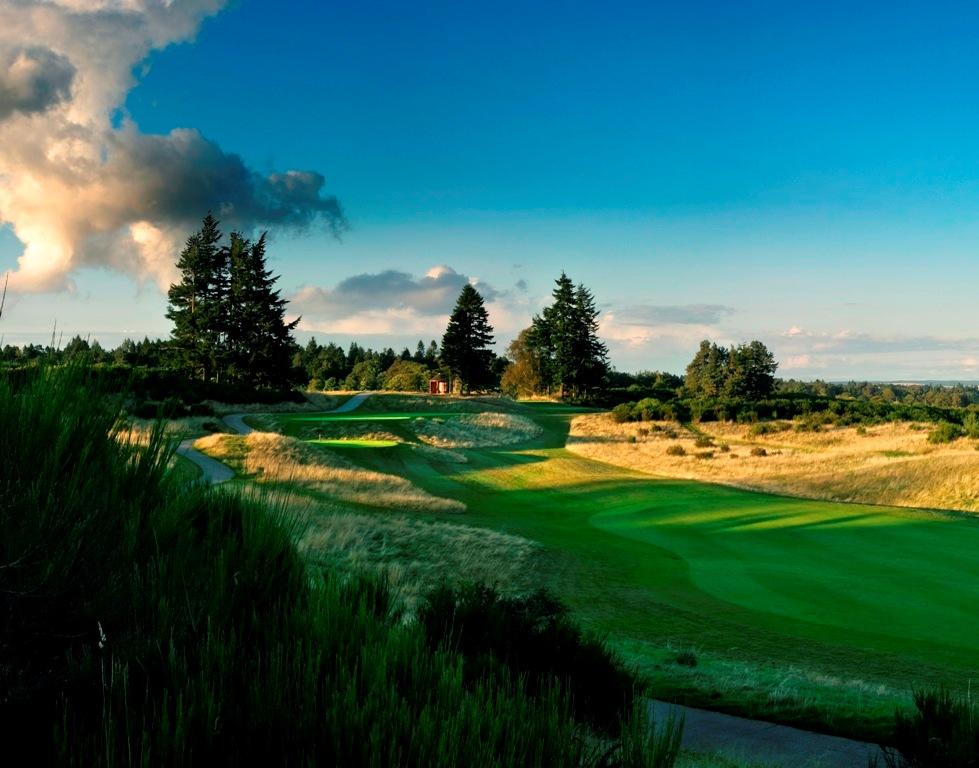 Fairway sur le parcours PGA Centenary de Gleneagles
