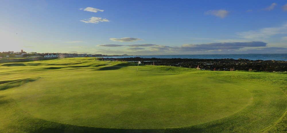 Trou n°4 du club de golf de Dunbar