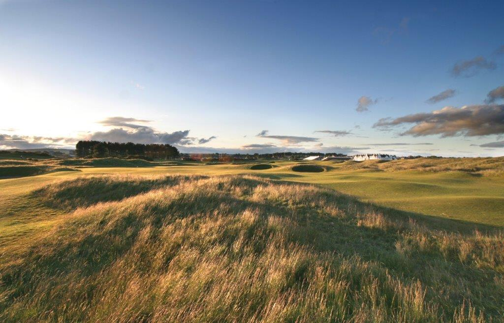 Rough sur le golf de Carnoustie en Ecosse