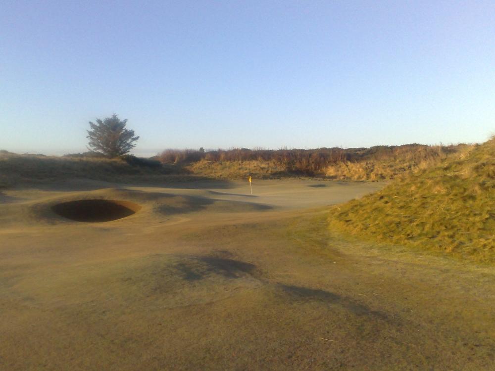 Green et dunes sur le parcours de Golspie