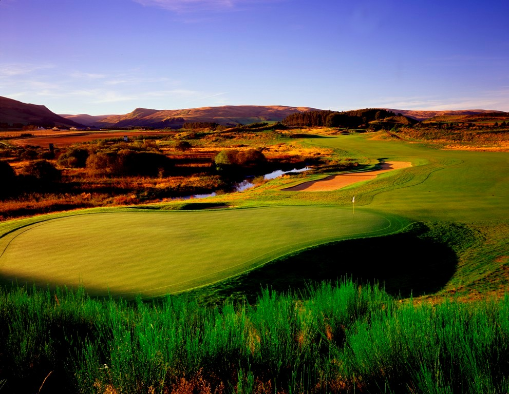 Large green sur le PGA centenary de Gleneagles
