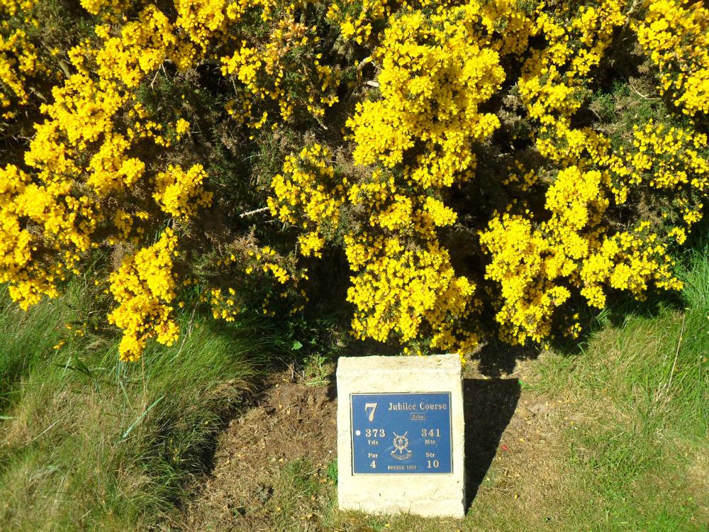 Départ sur le Jubilee Course à St Andrews