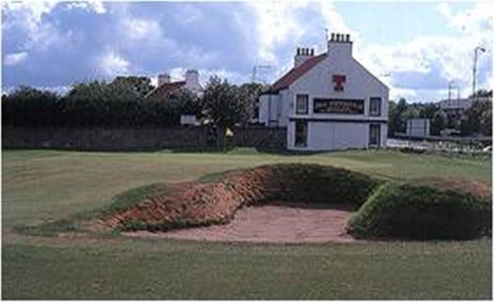 Bunker sur le parcours de Musselburgh Old