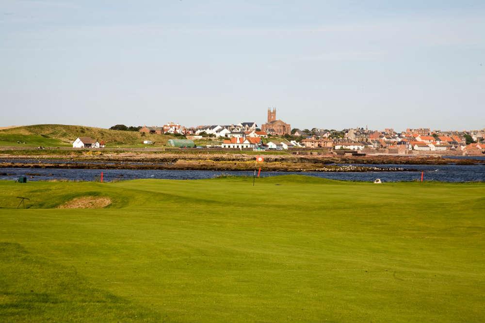 Trou n°15 du club de golf de Dunbar
