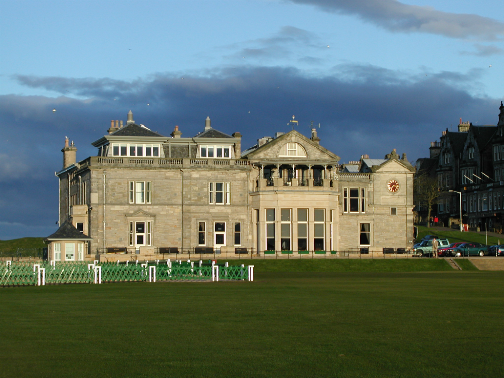 Royal & Ancient sur le parcours Old course de St Andrews
