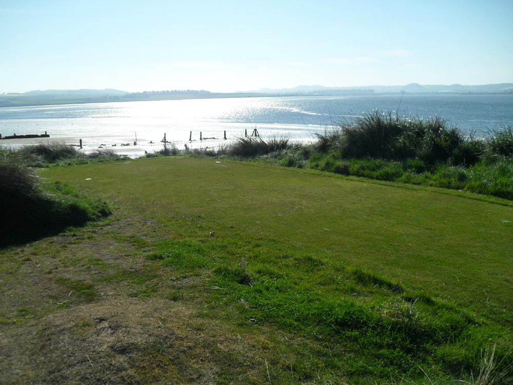 Départ et mer sur le Jubilee Course à St Andrews