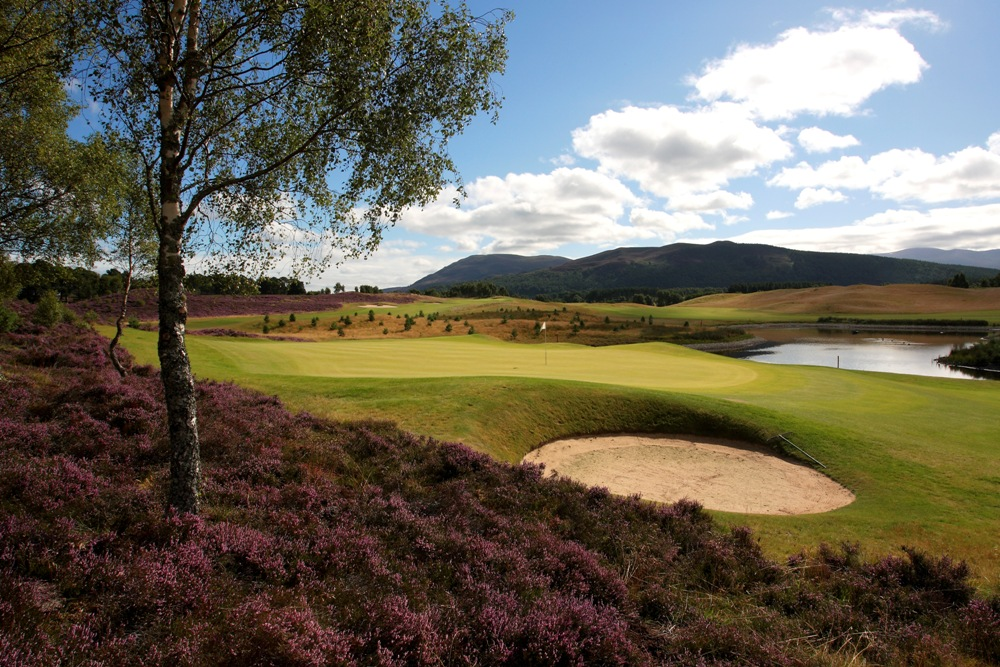 Un golf du golf de Spey Valley.