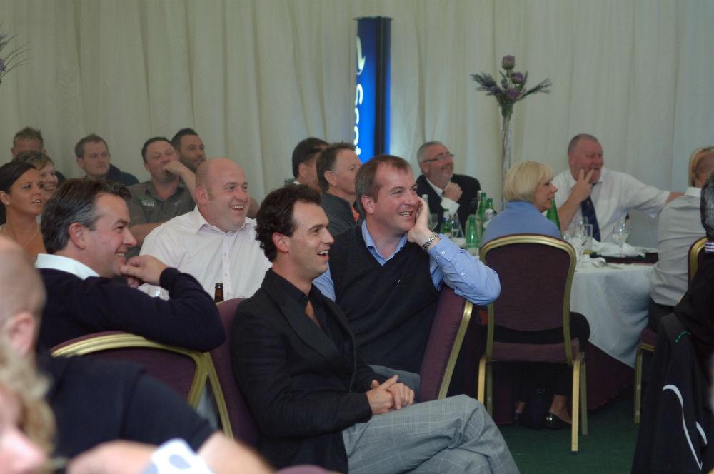 Dîner de gala lors du Pro-Am Scottish Hydro Challenge
