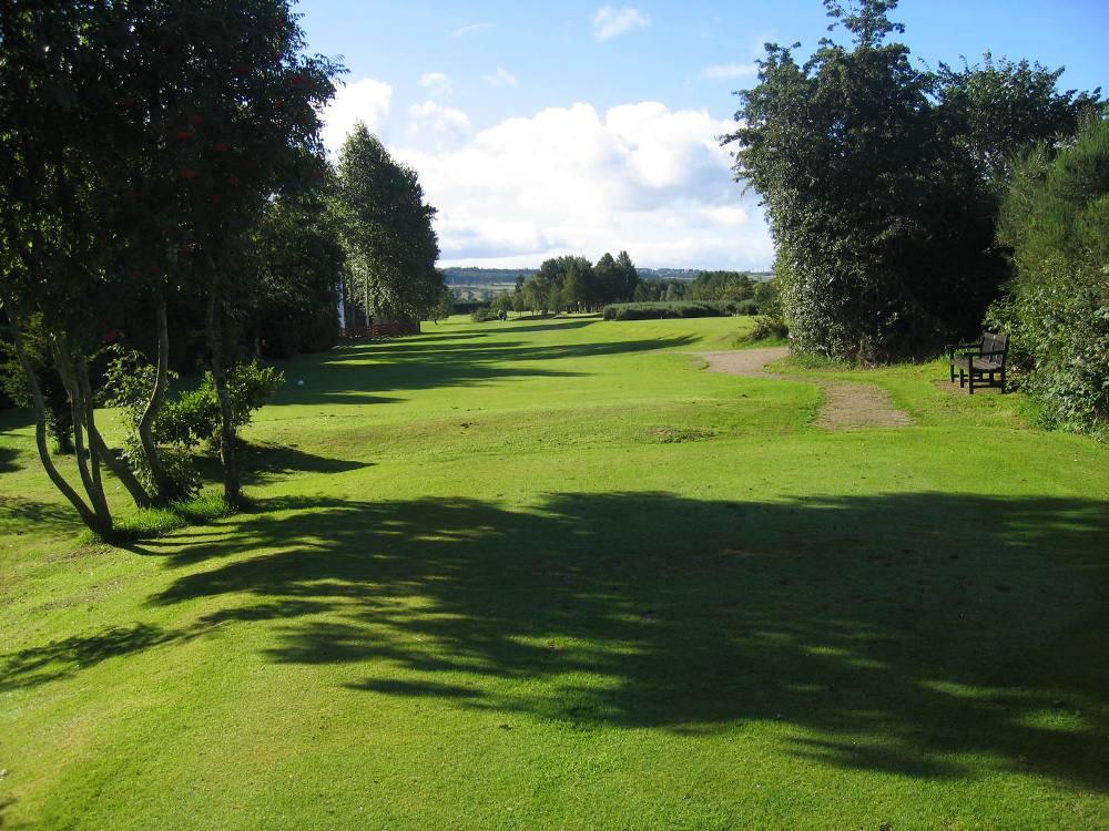 Trou n°2 sur le parcours d'Inverness