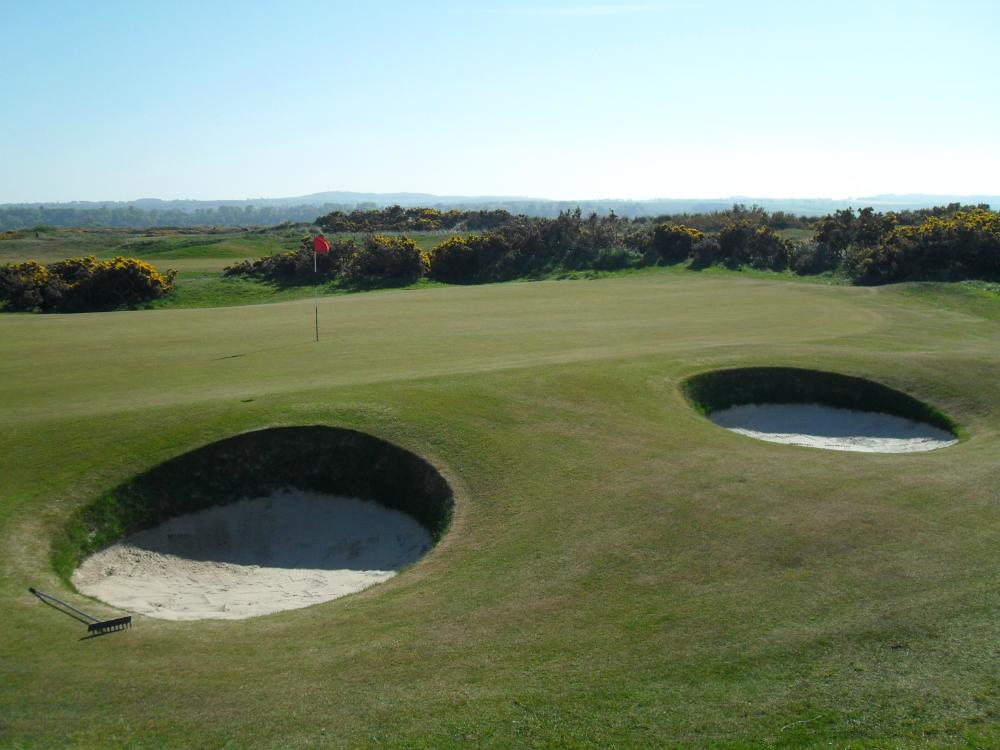 Bunkers sur le Jubilee Course à St Andrews