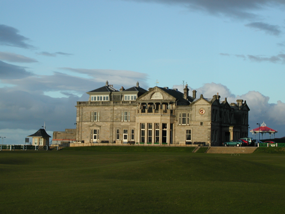 Royal & Ancient sur le Old course de St Andrews