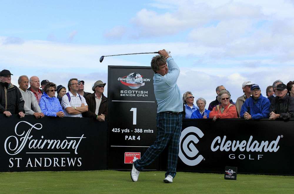 Golfeur professionnel lors du Scottish Senior Open