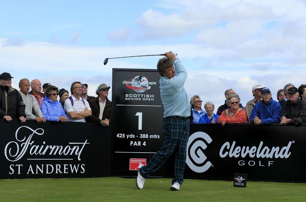 Golfeur professionnel lors du Scottish Senior Open