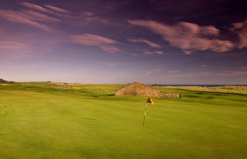 Trou n°10 du club de golf de Dunbar