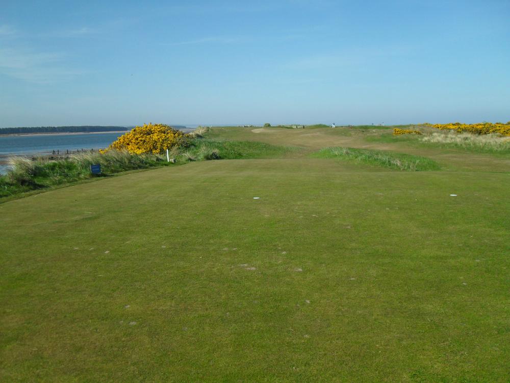 Départ sur le New Course à St Andrews