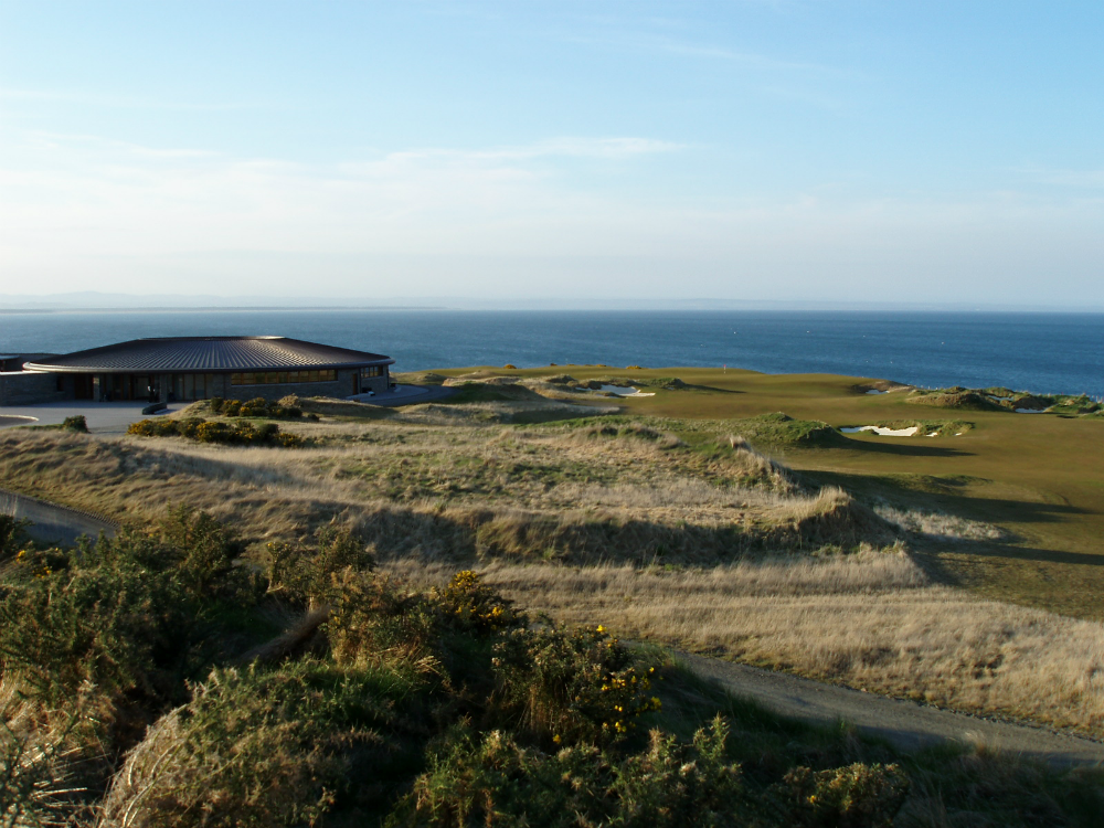 Club house sur le parcours du Castle Course