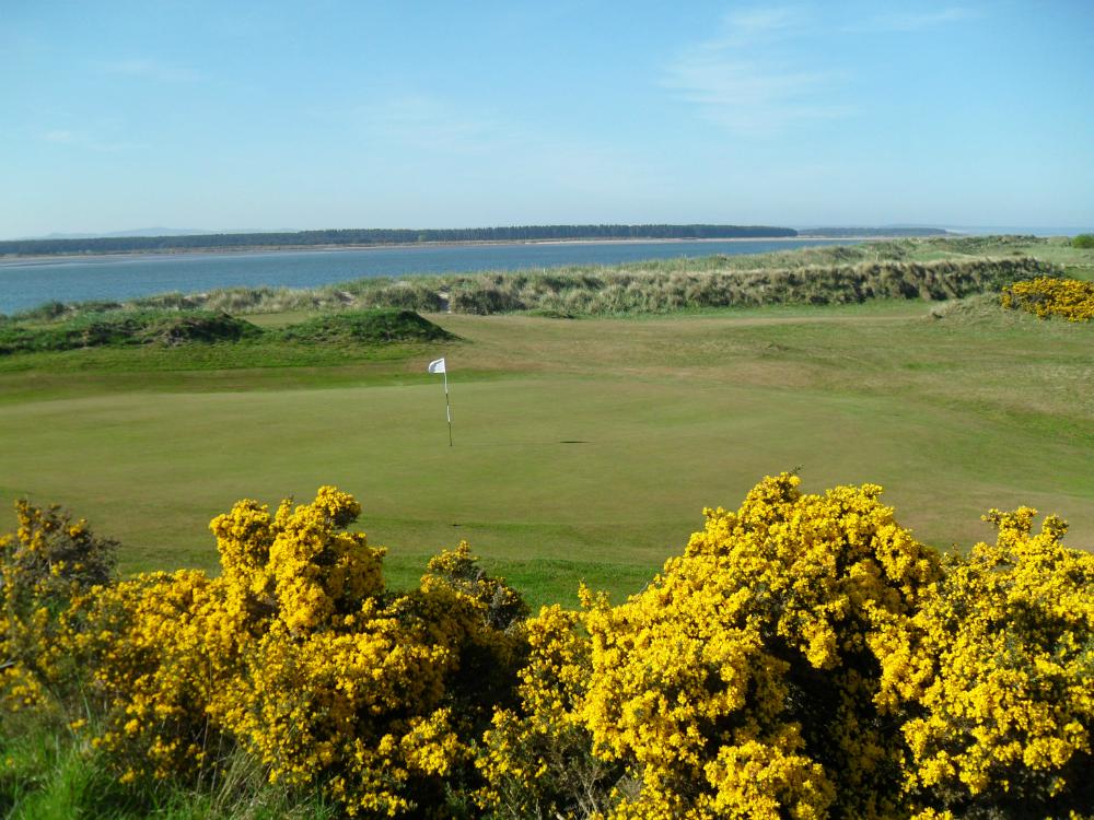 Green sur le Jubilee Course à St Andrews