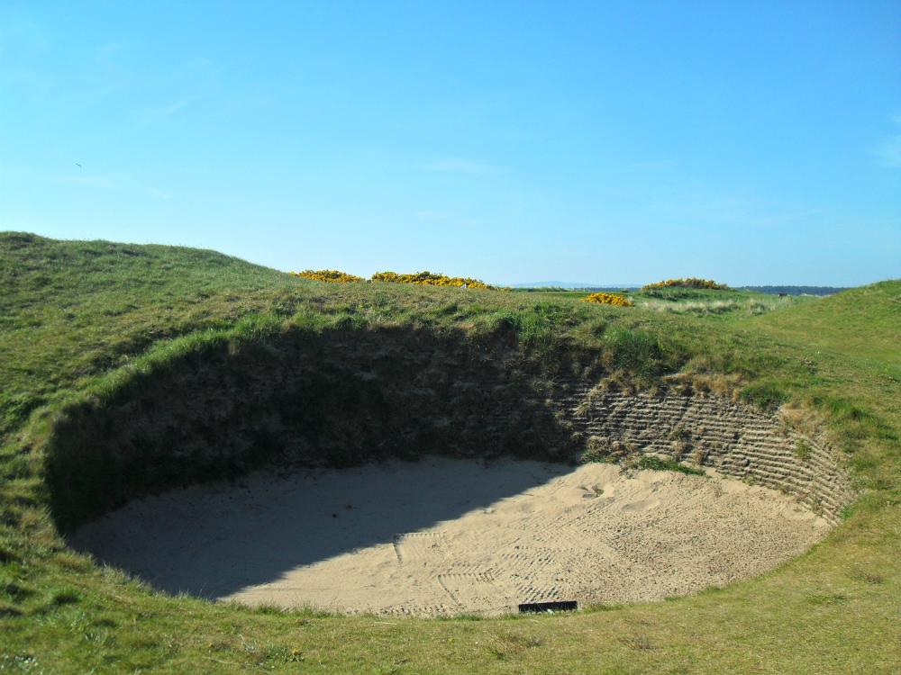 Bunker sur le New Course à St Andrews
