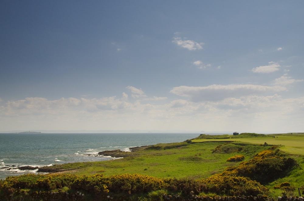 Le paysage du golf de Crail Craighead.