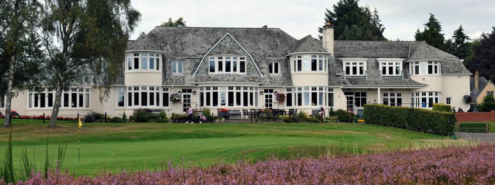 Clubhouse sur le parcours de Rosemount au club de Blairgowrie