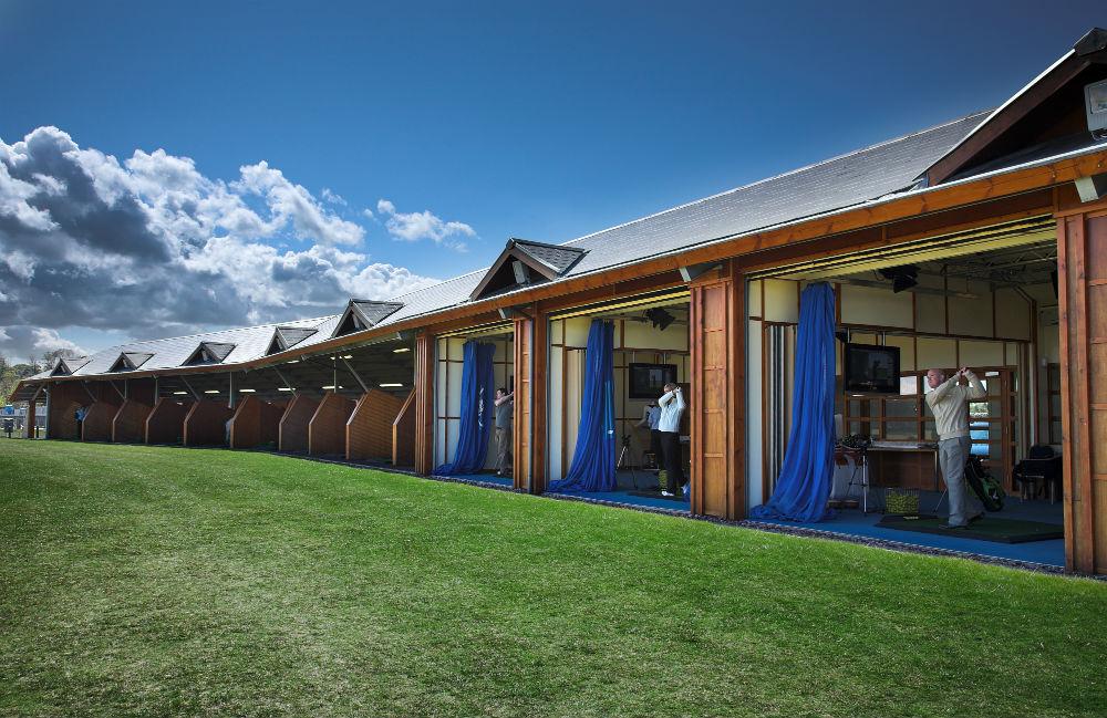 Practice à l'Académie de golf de St Andrews