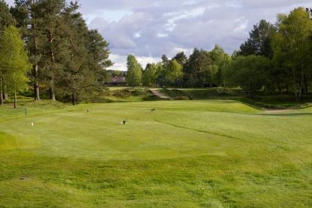 Des départs du golf de Ladybank.