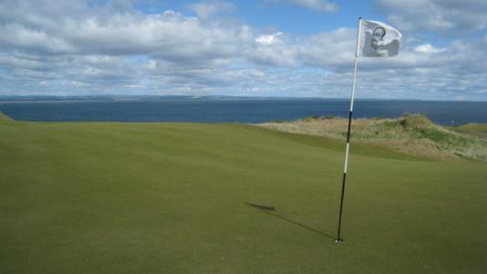 Large green sur le Castle Course à St Andrews