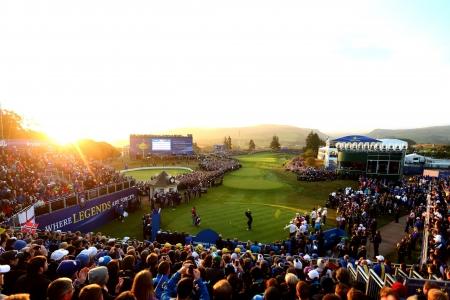 Le public lors de la Ryder Cup 2014 en Ecosse à Gleneagles