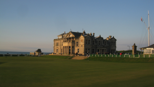 Royal & Ancient sur le parcours du Old Course à St Andrews