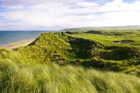 Dunes et plage sur le parcours de Machrihanish Dunes