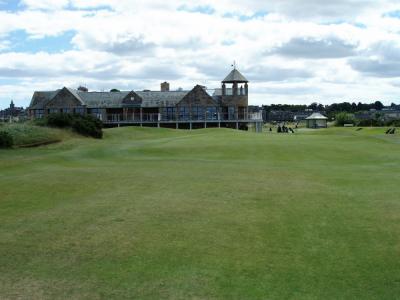 Club house sur le New Course à St Andrews