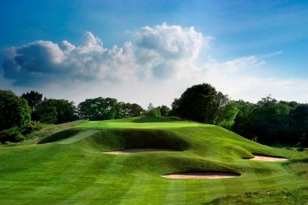 Des bunkers du golf de Gleneagles.