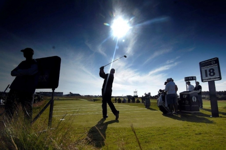 British Open sur le golf de Carnoustie en Ecosse