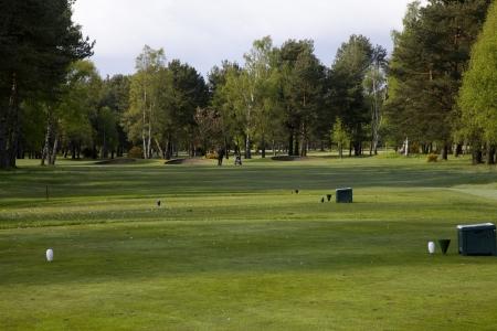Un départ du golf de Ladybank.