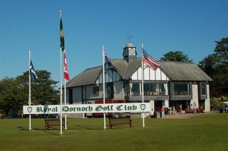 Clubhouse sur le parcours du Royal Dornoch