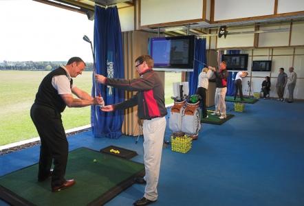 Lecon à l'Académie de golf de St Andrews