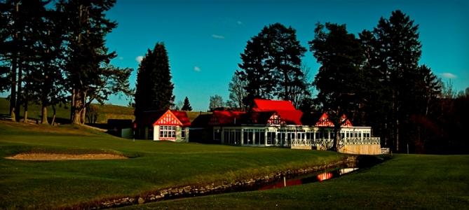Clubhouse sur le parcours de Pitlochry