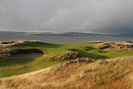 Green, bunker set dunes sur le parcours de Castle Stuart