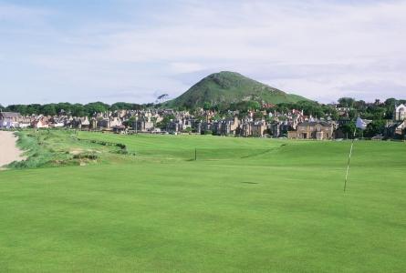 Premier trou du parcours de golf de North Berwick