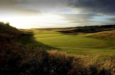 Green du 6 sur le parcours du Royal Troon