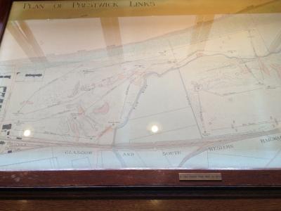 Plan du parcours de Prestwick