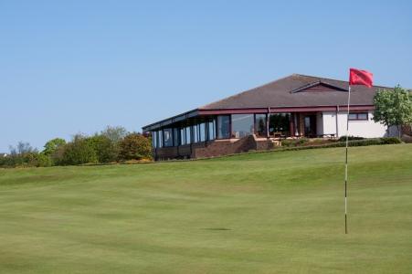 Clubhouse sur le parcours de Nairn Dunbar