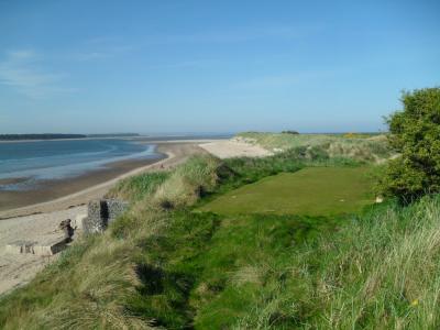 Vue mer sur le Jubilee Course à St Andrews