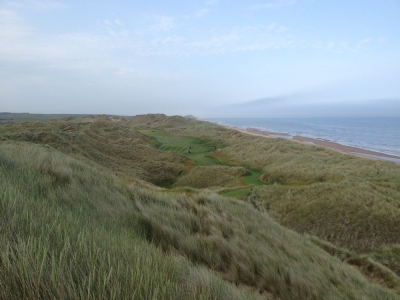 Dunes sur le parcours du Trump International Golf Links Scotland
