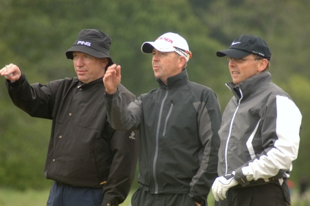 Golfeurs lors du Pro-Am Scottish Hydro Challenge