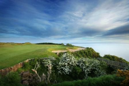 Green du 17 sur le parcours Kittocks à St Andrews