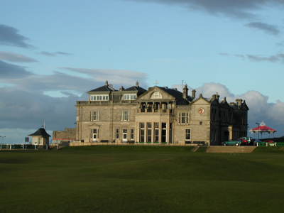 Le Royal & Ancient sur le parcours du Old Course à St Andrews