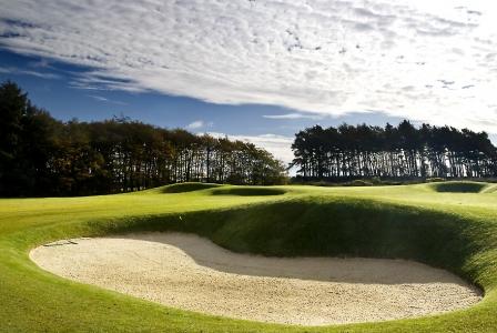 Large bunker sur le parcours de Rowallan Castle