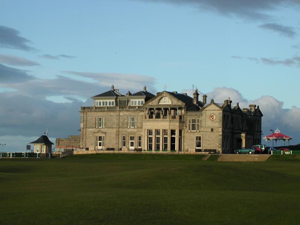 Le Royal & Ancient sur le parcours du Old Course à St Andrews
