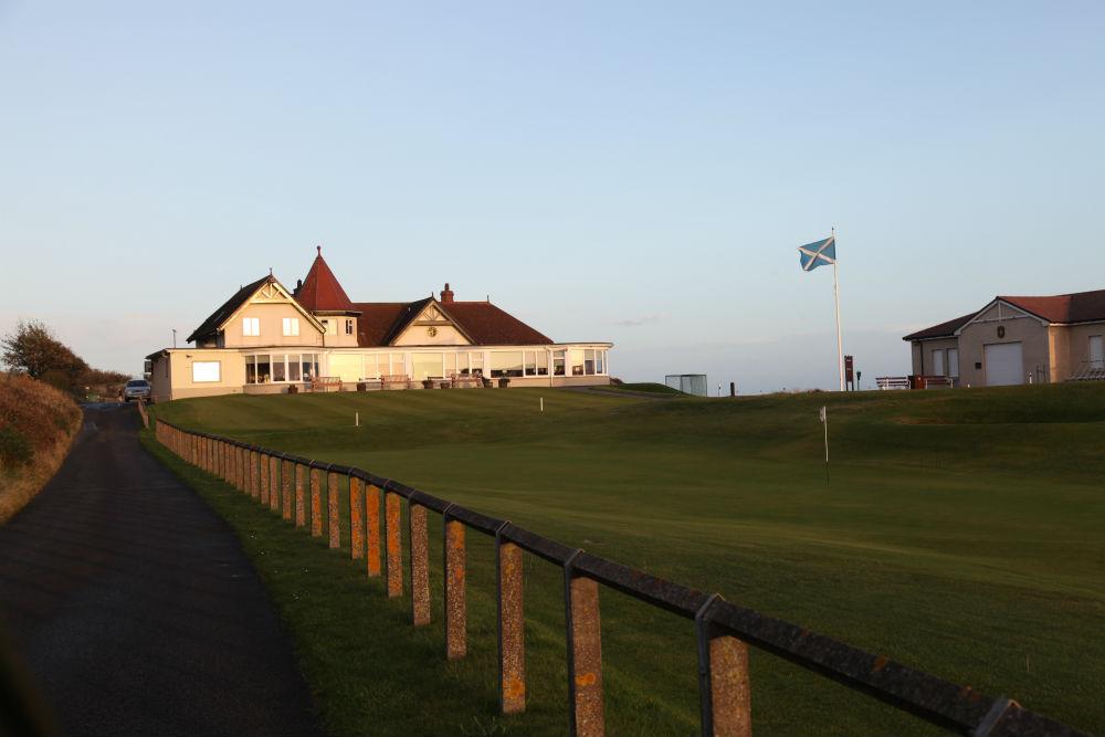 Clubhouse sur le parcours de Lundin